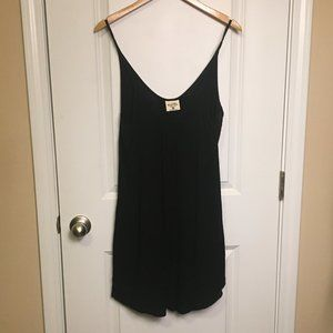 Salt Life Black Beach Dress Long Tank